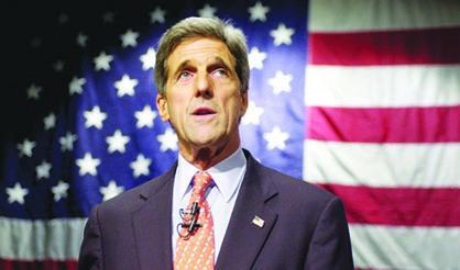 Senado ratifica a John Kerry
