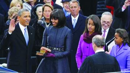 Obama inicia segundo mandato