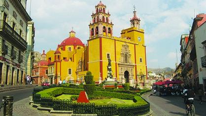 El encanto colonial de Guanajuato México