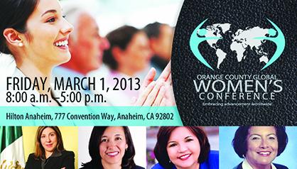 Conferencia Global de Mujer de OC