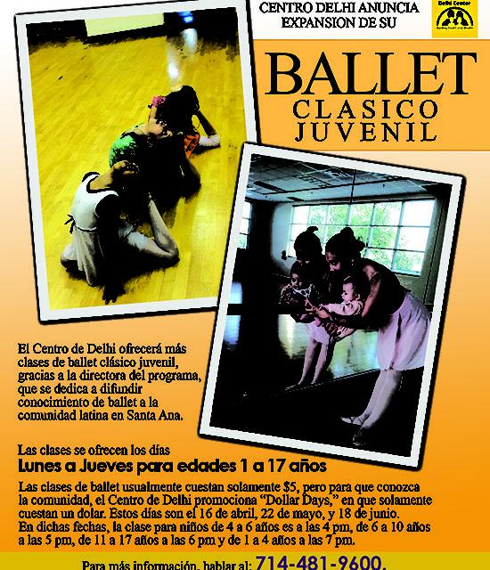 Ballet clasico juvenil