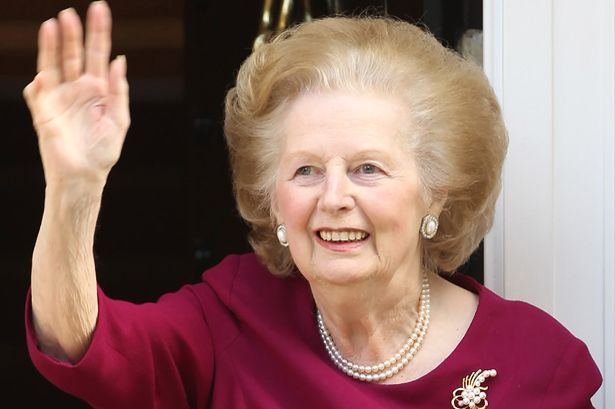 Muere Margaret Thatcher