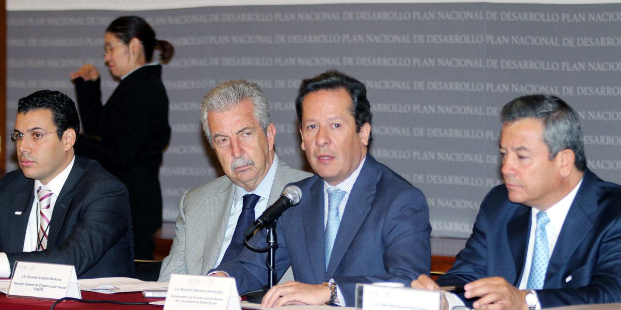 """Enrique Peña Nieto formalizó la creación de gabinetes especializados, entre ellos el de """"México Incluyente."""