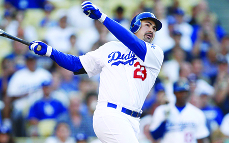 Adrian Gonzalez el numero uno