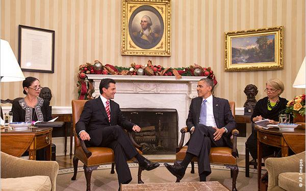 Acepta Obama visita a México – Costa Rica y reconoce a su homólogo Enrique Peña Nieto