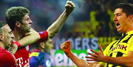 Bayern y Dortmund por la gloria