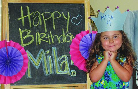 Feliz Cumpleaños Mila