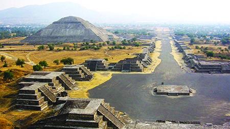 Teotihuacán, un paraíso histórico