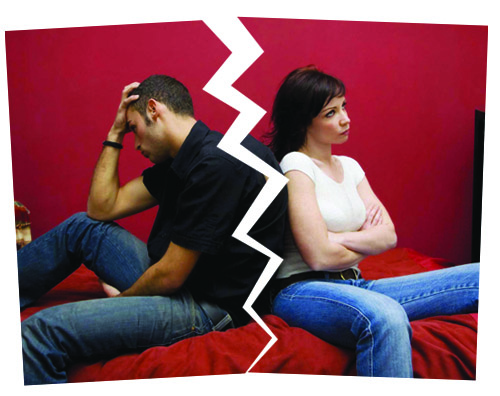 Las secuelas del divorcio