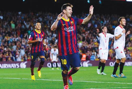 Real Madrid y Barcelona golean
