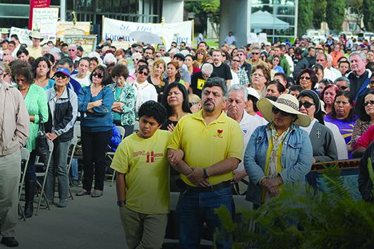 Oran por una Reforma Migratoria