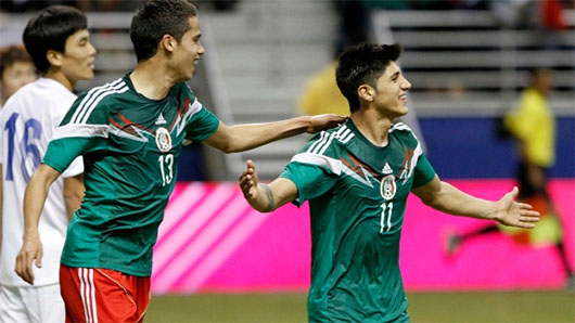 México goleó a Corea