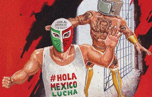 Lucha Libre: Hola México vs La Mala Imagen