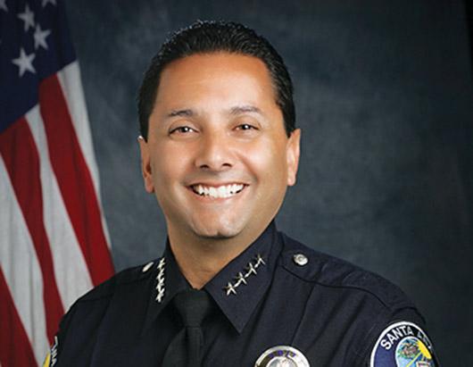 Nuevo Jefe de Policía en Santa Ana