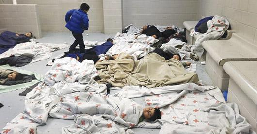 Crisis humanitaria con menores de edad