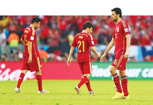 España es eliminado del Mundial