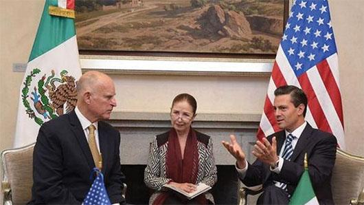 CALIFORNIA Y MÉXICO firman pacto comercial