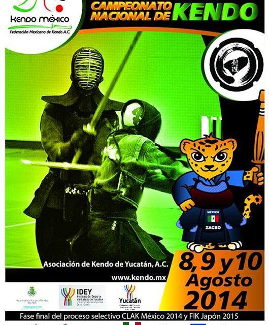 Yucatán anfitrión del Nacional de Kendo