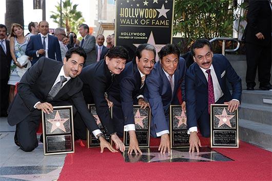 Primera banda de Música Regional Mexicana con estrella en Hollywood