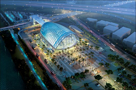 Se inaugura el Anaheim Regional Transportation Intermodal Center (ARTIC)