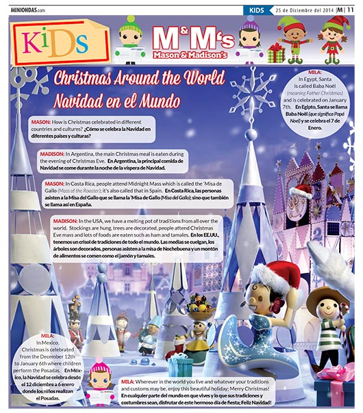 Christmas Around the World/Navidad en el Mundo
