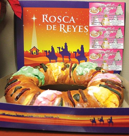 Rosca de Reyes en Orange County