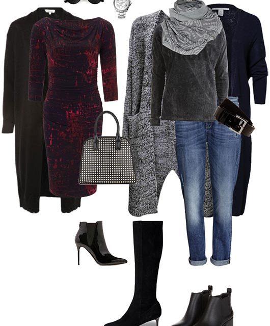 Suéteres Cárdigan para el frío invernal