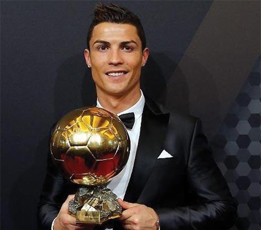 El portugués Cristiano Ronaldo gana el Balón de Oro 2014