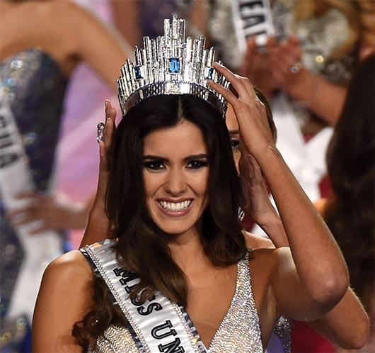 Paulina Vega es la segunda Miss Universo Colombiana