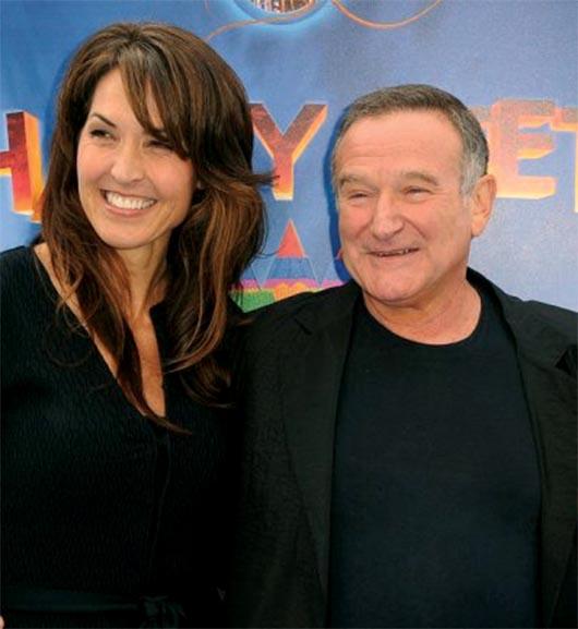 Esposa de Robin Williams le niega la herencia a los hijos