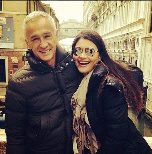 Chiquinquirá Delgado y Jorge Ramos ¿se casaron?