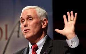 Gobernador de Indiana elude preguntas sobre ley anti LGTB