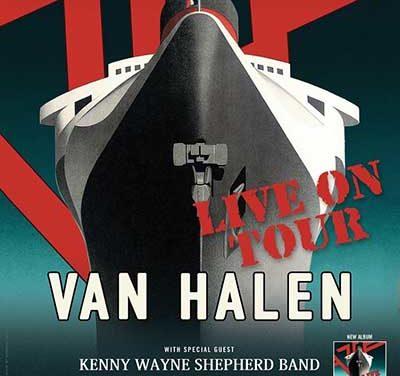 Van Halen de gira en el sur de California