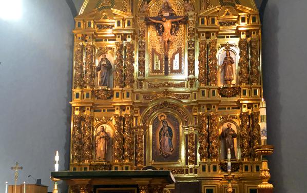 El Gran Retablo de la Basílica de San Juan Capistrano