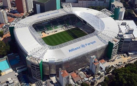 Brasil VS. México confirmado en allianz park de Sao Paulo