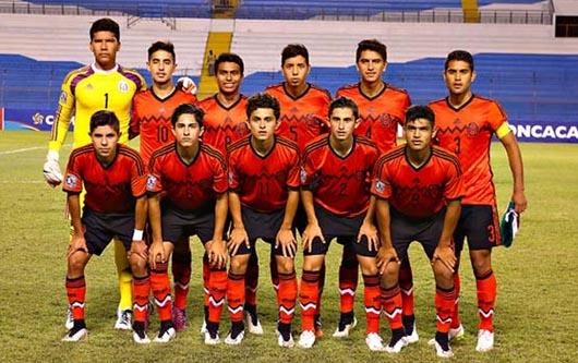 Se concentró la selección nacional de México Sub17