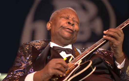 B.B. King luchando con la diabetes