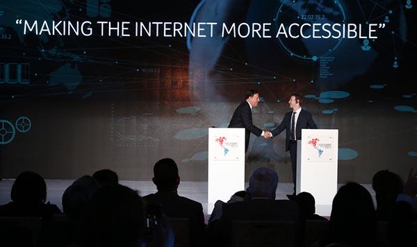 Mark Zuckerberg de Facebook hará Internet más accesible