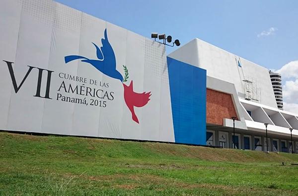 Ceremonia y Protocolo Multilateral para VII cumbre de las Américas