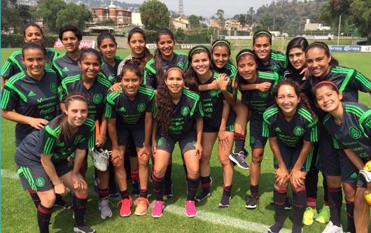 La selección nacional femenil Sub 20