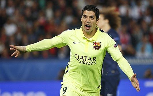 Quinto y sexto gol de Luis Suárez, cuarto de Neymar y estreno de Thiago