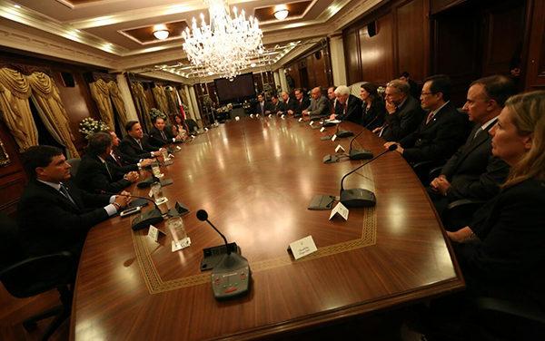 Presidente Varela recibe a la Cámara de Comercio de E.U.