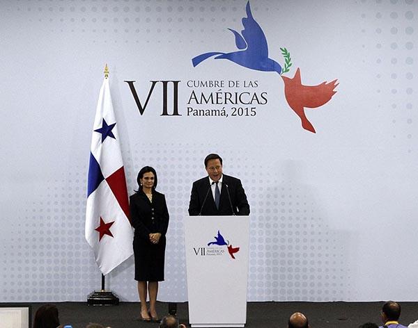 Declaración del Presidente de Panamá Juan Carlos Varela, con motivo de la clausura de la VII Cumbre de las Américas