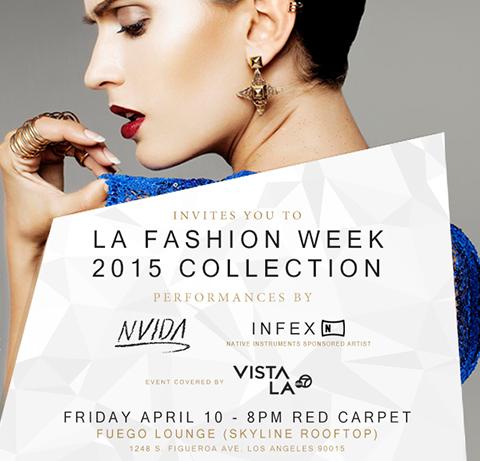 Clausura de Semana de la Moda en L.A. Colección GLAUDI 2015