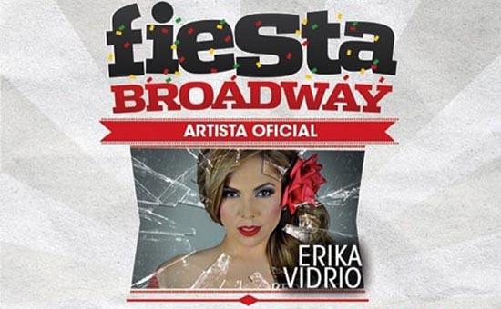 Erika Vidrio llega al escenario principal de Fiesta Broadway 2015 en L.A.