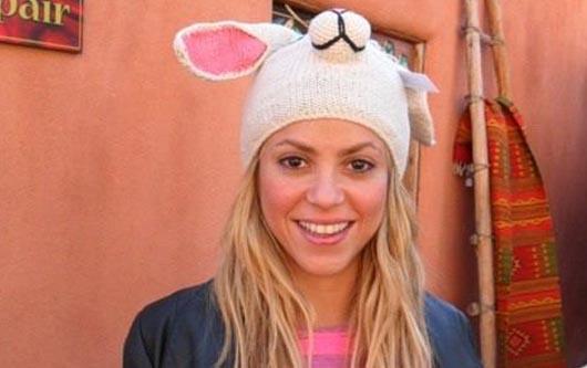 Shakira como conejita?