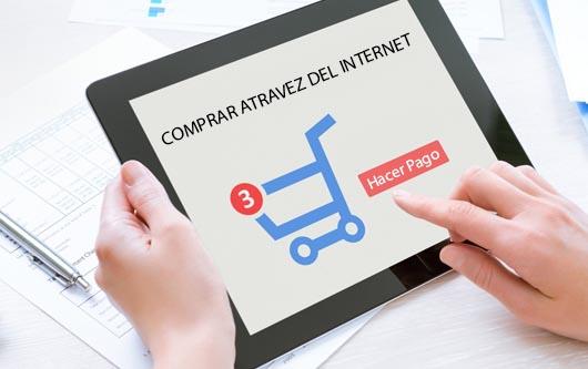 Comprar a través del internet