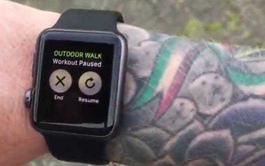 El Apple watch no funciona bien en piel tatuada