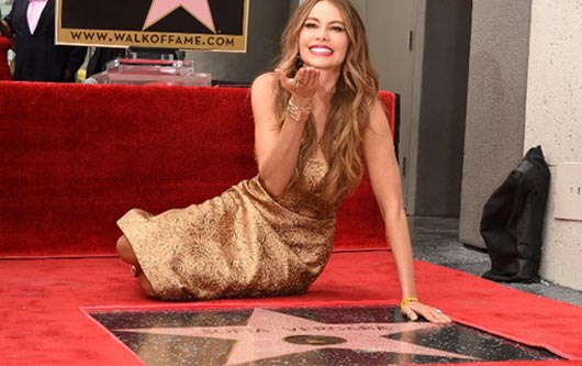Sofía Vergara una estrella en Hollywood