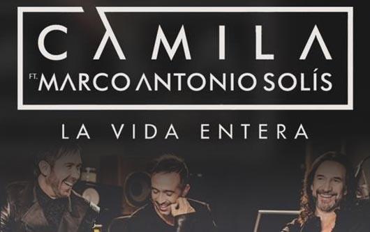 Camila y Marco Antonio Solis juntos